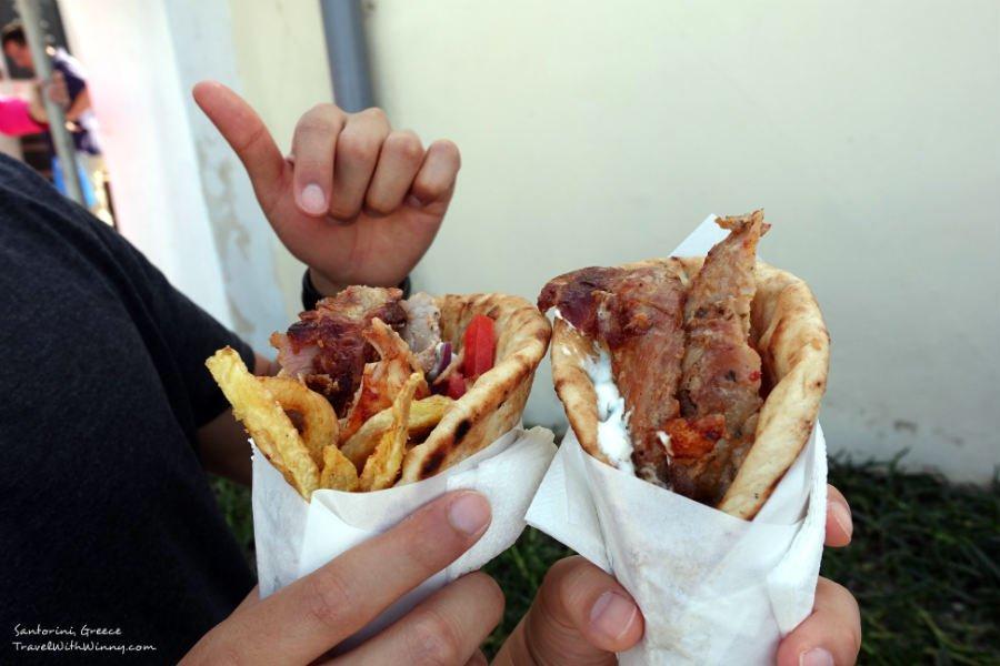 希臘 旋轉烤肉 Gyros