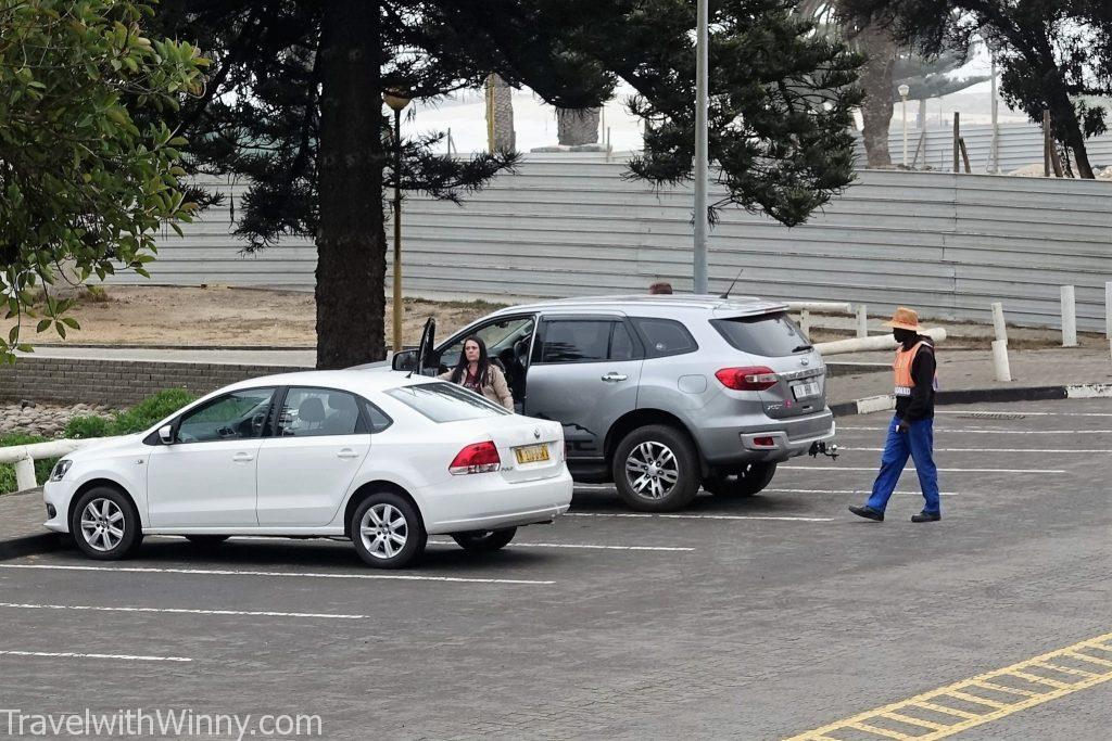 South Africa Car guard