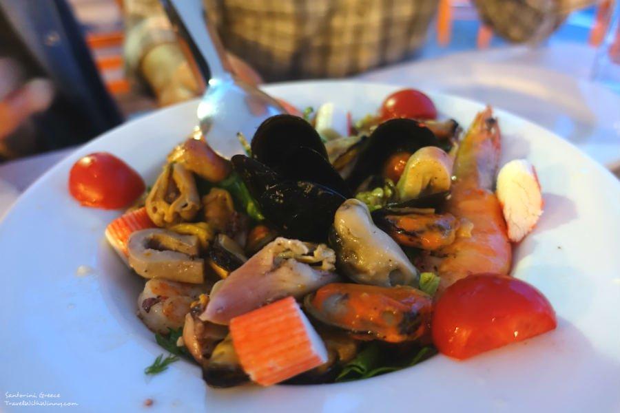 Seafood Salad 海鮮沙拉
