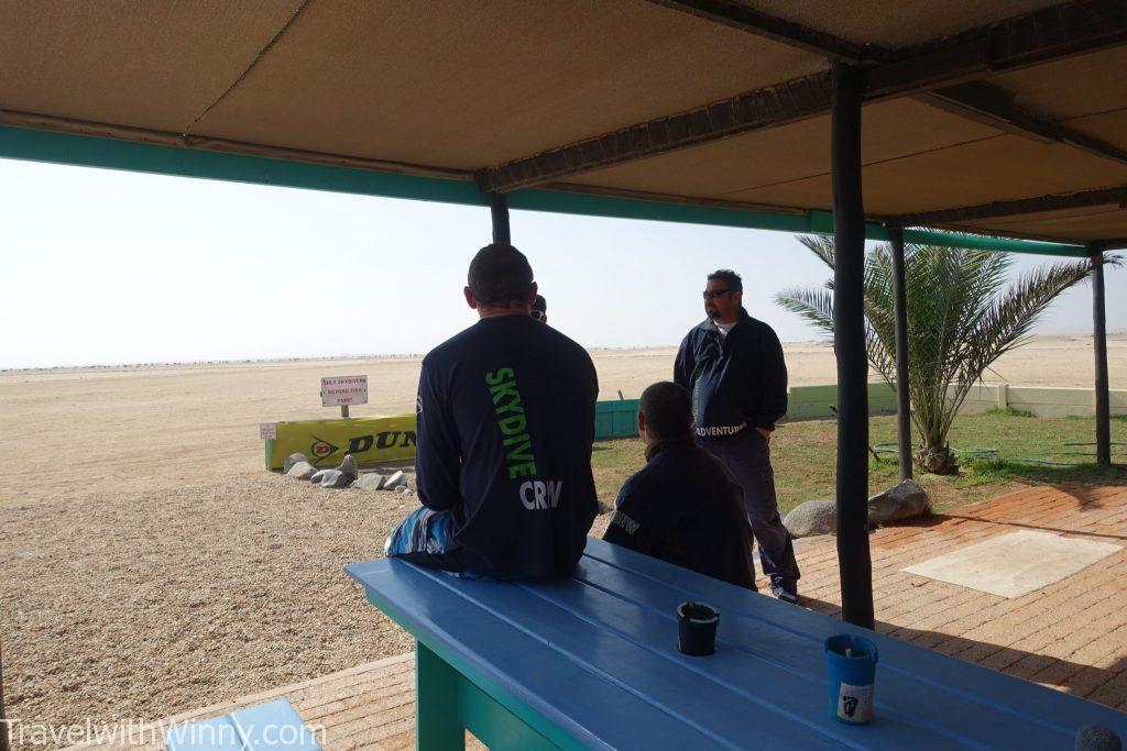 skydive in Swakopmund