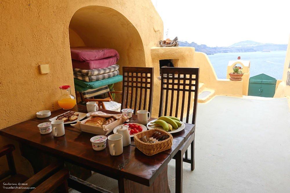 聖托里尼 民宿 zoe's house Best place to stay in santorini