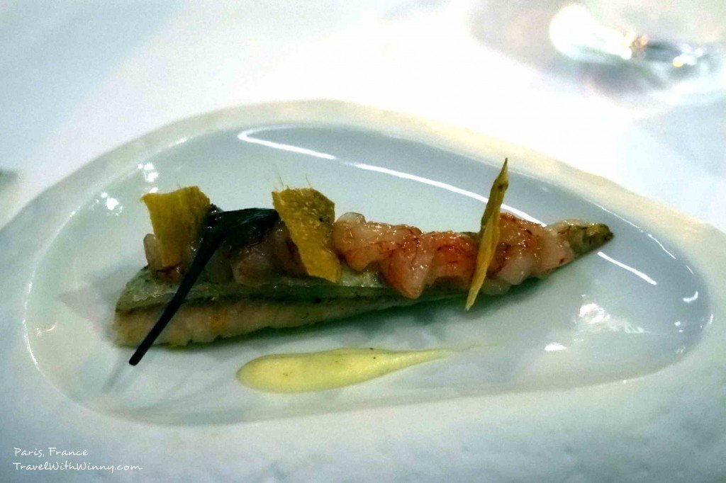 Red Mullet Fillet and Gambero rosso Tartare - Antoine Paris