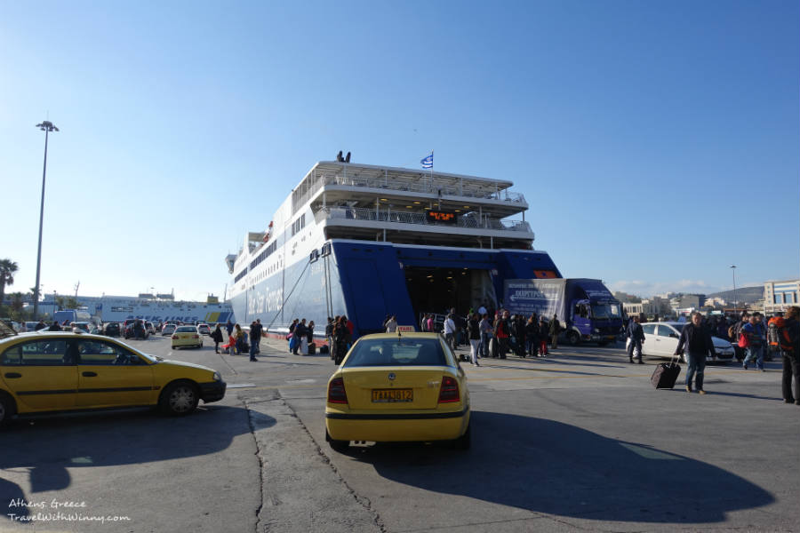 Blue star ferries greece 希臘渡輪