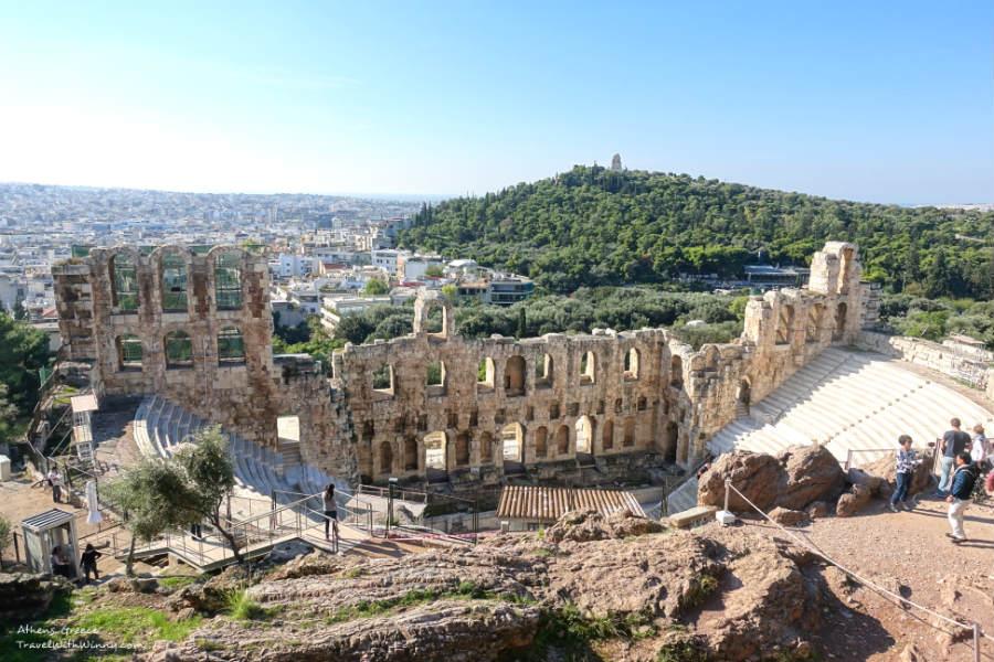 Odeon of Herodes Atticus 希羅德 阿提庫斯劇場