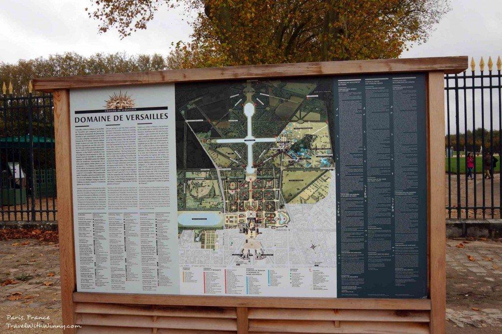 凡爾賽宮 交通 地圖