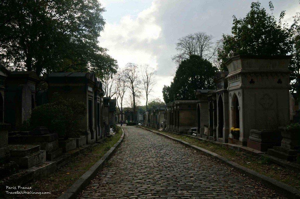 Père Lachaise Cemetery Paris