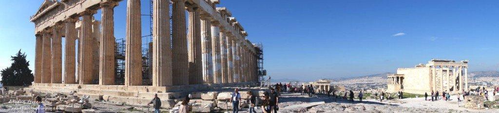 雅典 衛城 全景 acropolis panorama