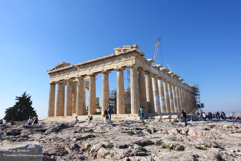 The Parthenon 帕德嫩神殿 雅典 衛城