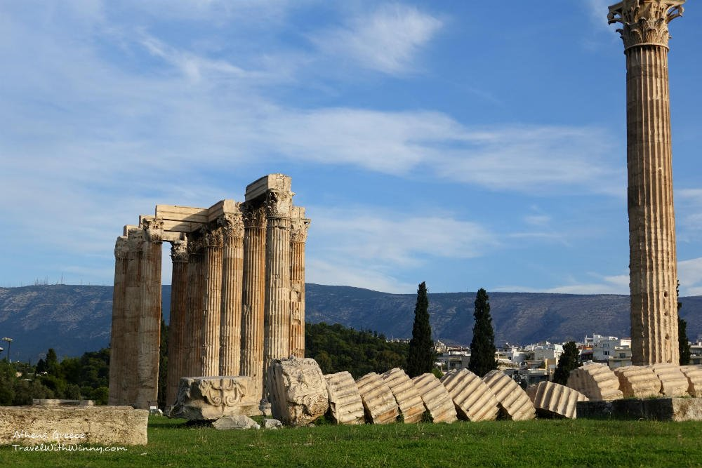Temple of Olympian Zeus (Olympieion) 奧林匹亞 宙斯 神廟
