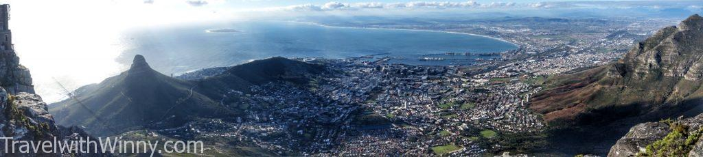 南非 table mountain 桌山