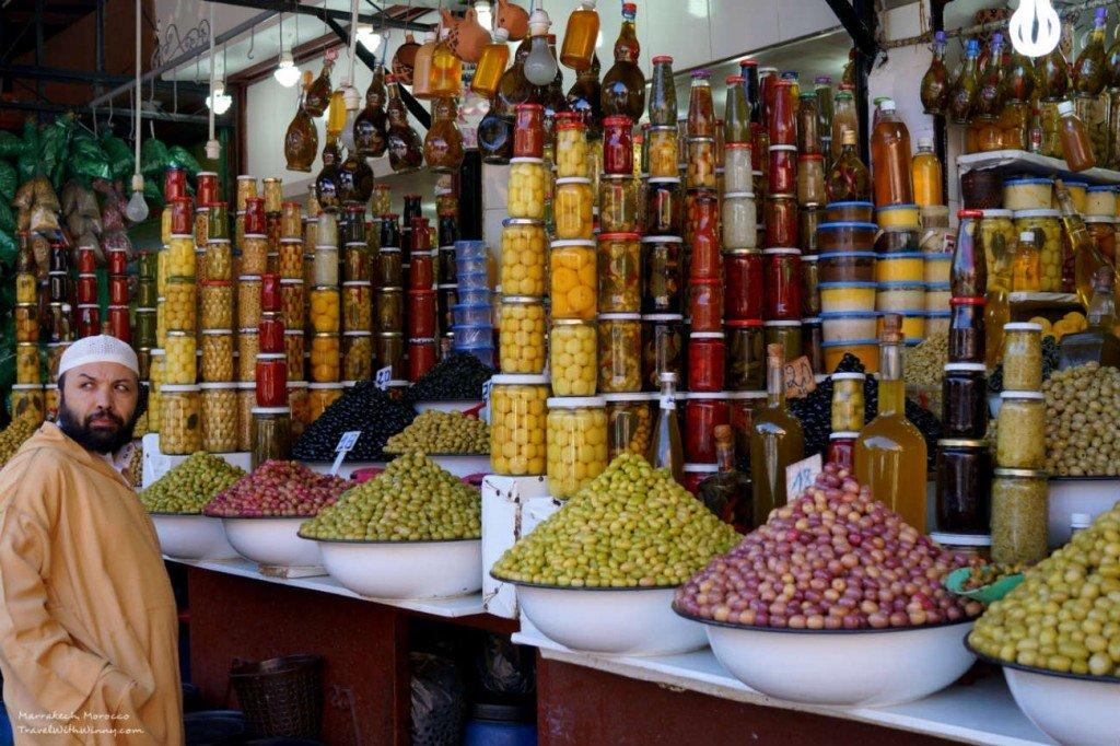 Marrakech 馬拉喀什 Olives 橄欖