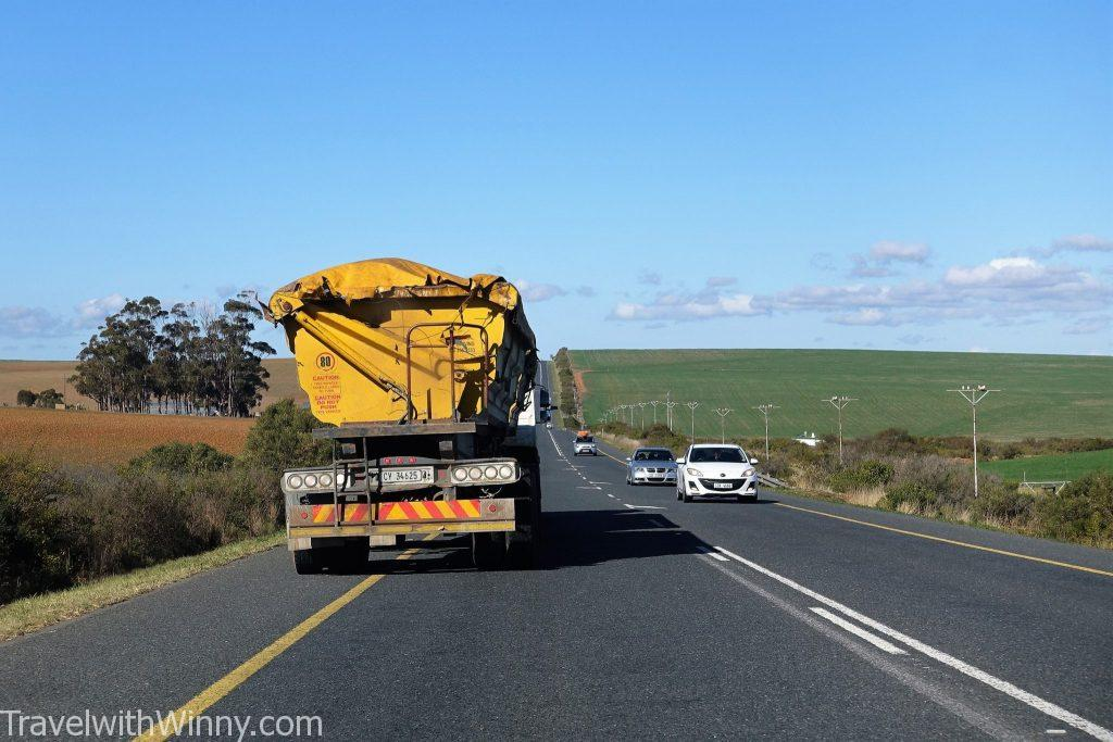 Emergency yellow lane South Africa