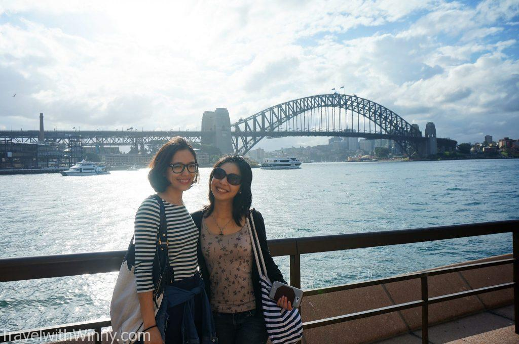 sydney harbor bridge 雪梨大橋
