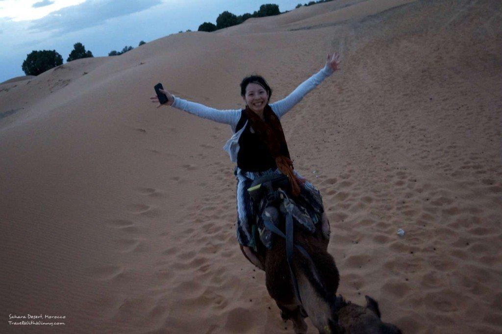 Morocco Sahara Desert Camel Trekking 撒哈拉沙漠