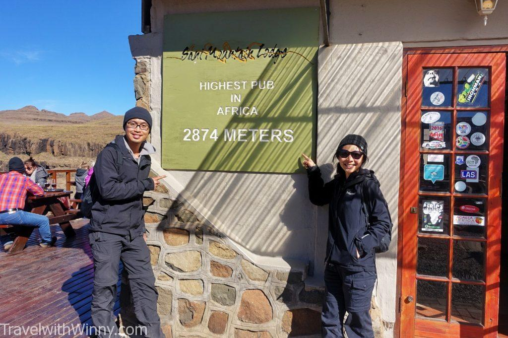 africa's highest pub