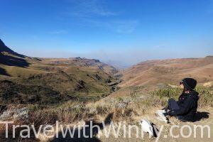 Lesotho 賴索托 sani pass