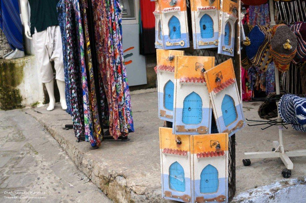 藍色小鎮 門 Morocco blue city