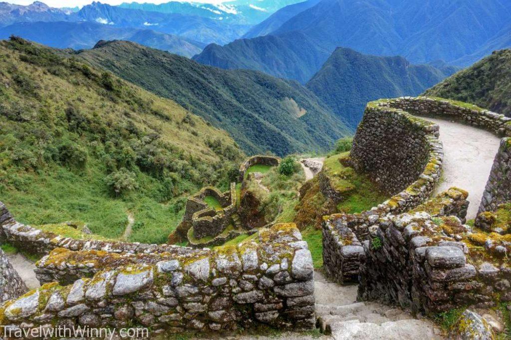 inca ruin Phuyupatamarka 印加古蹟