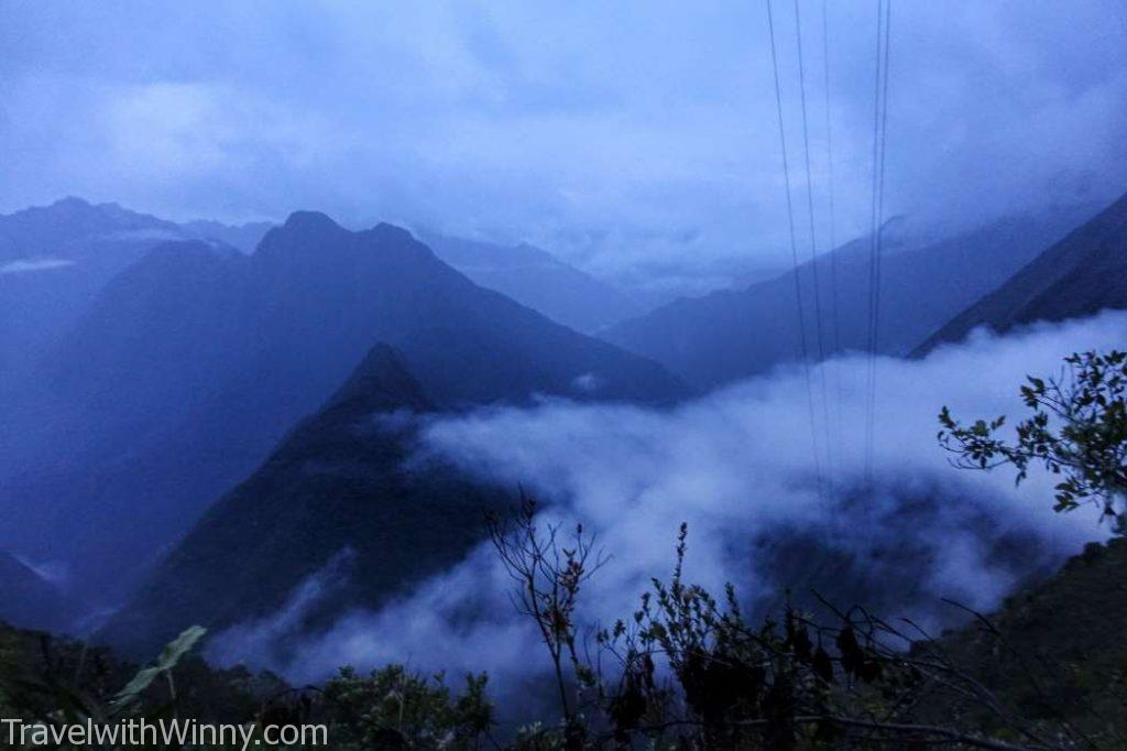 水墨畫風景 misty view