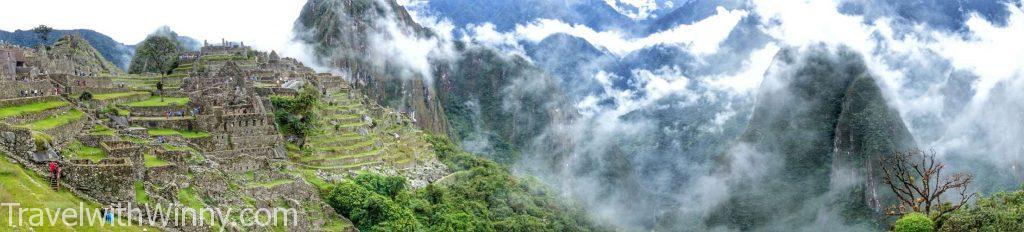 machu picchu panoramic 馬丘比丘 全景