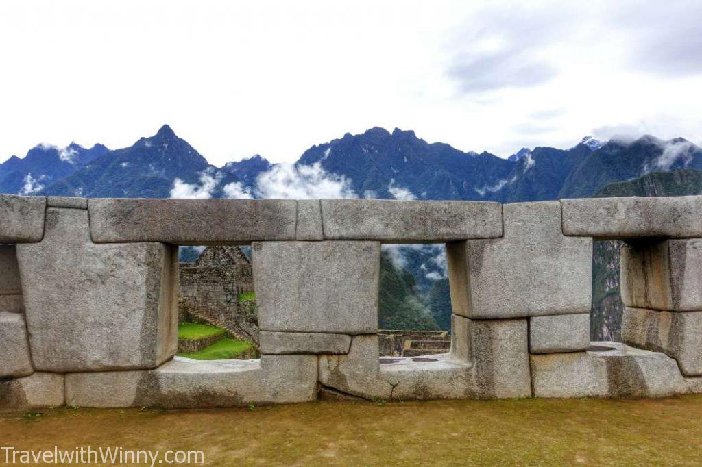 machu picchu 馬丘比丘 temple of three windows
