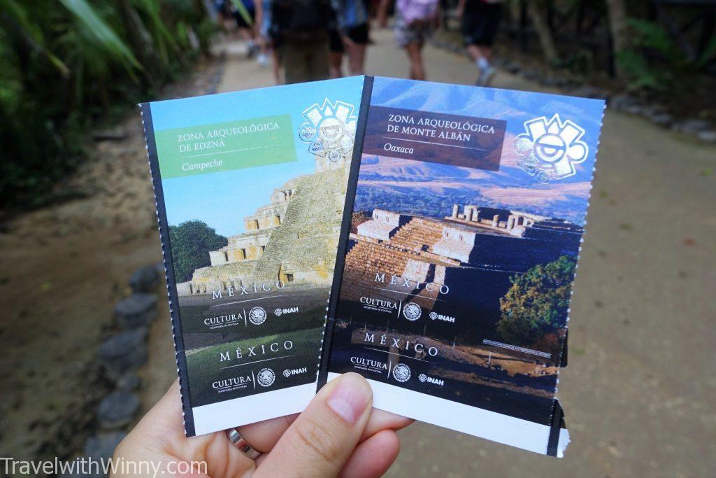 UNESCO Mexico ticket 墨西哥 門票