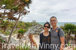 【墨西哥】沿著加勒比海岸的馬雅遺址:Tulum 土倫
