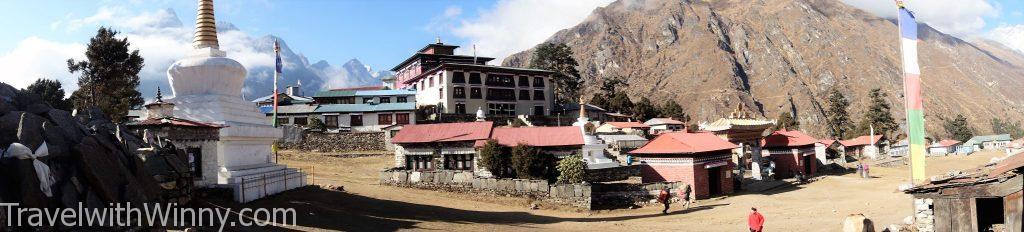 Tengboche湯坡崎 EBC 聖母峰 himalayas 喜馬拉雅山