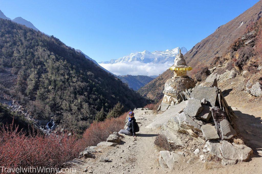 窣堵坡 Stupa EBC 聖母峰 himalayas 喜馬拉雅山