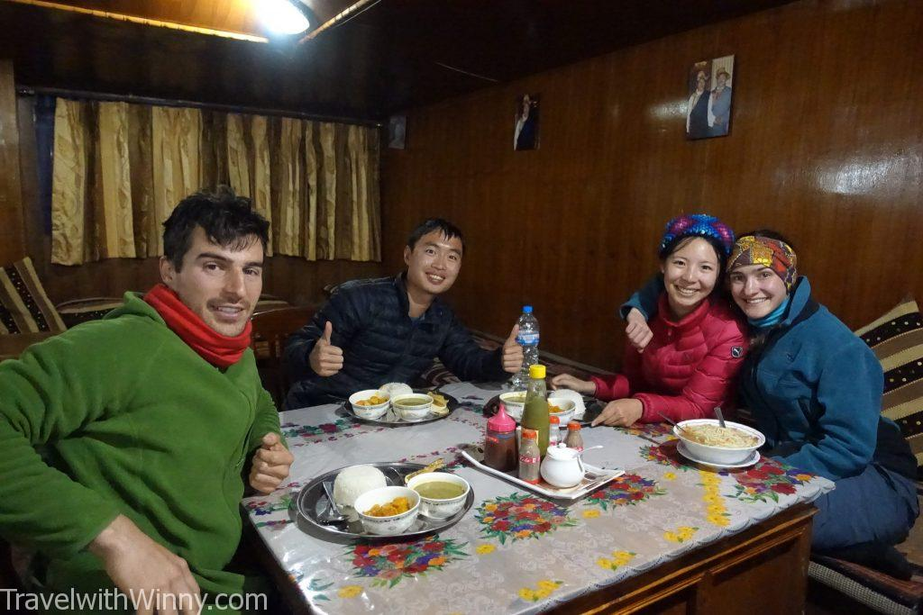 EBC 聖母峰 himalayas 喜馬拉雅山 食物 food