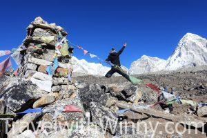 【尼泊爾】冬季 EBC 聖母峰基地營 :挑戰十三天沒洗澡的健行日記