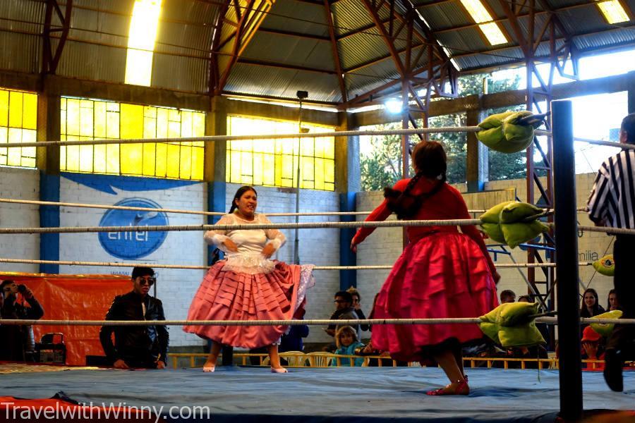 cholita 女子摔角