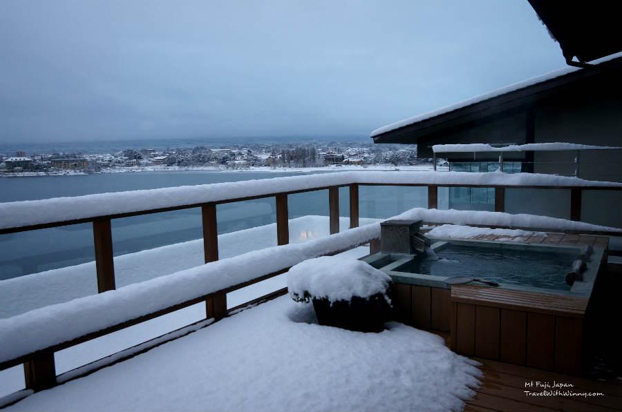 Fuji onsen spa 露天風呂