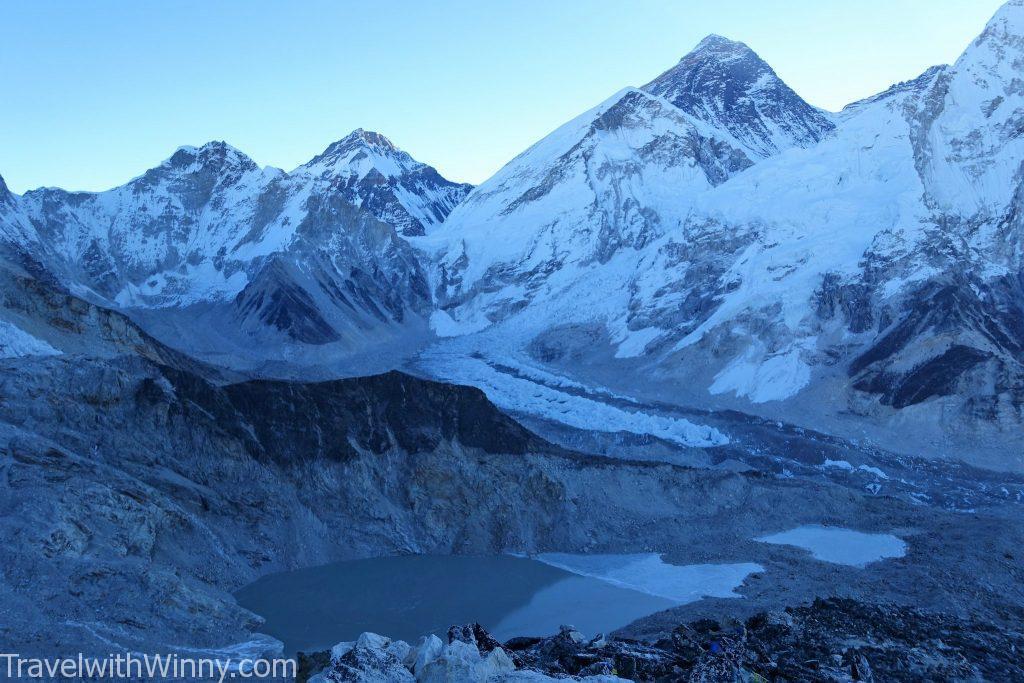 Kalapattar 卡拉帕塔 sunrise 日出 EBC 聖母峰 himalayas 喜馬拉雅山