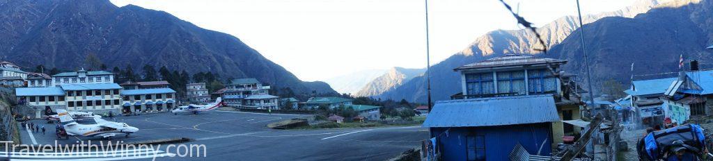Lukla airport 盧克拉 機場 EBC 聖母峰 himalayas 喜馬拉雅山