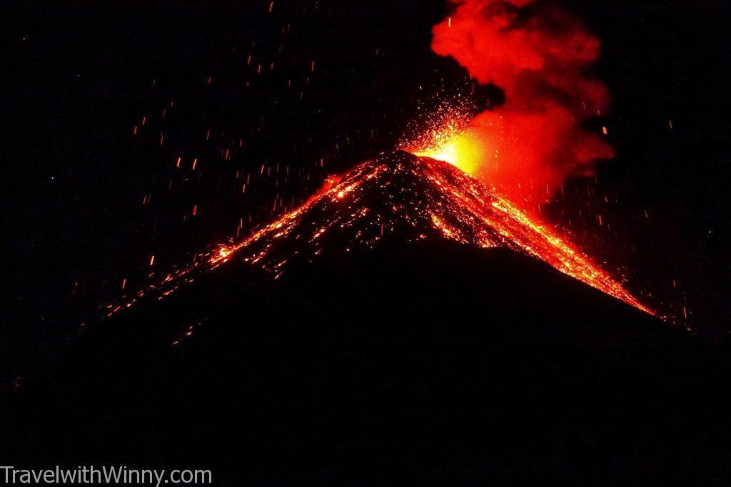 富埃戈火山 fuego guatemala 瓜地馬拉