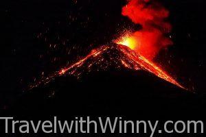 【瓜地馬拉】探險敢死隊,深夜活火山大冒險!富埃戈火山 & 阿卡特南戈火山