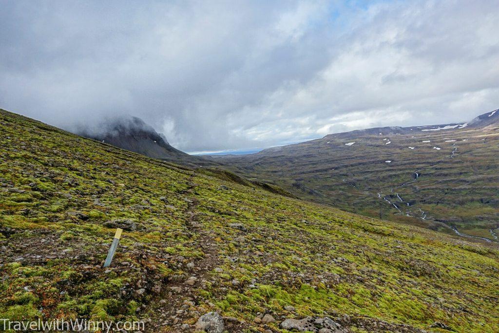 Mt. Bjólfur 塞濟斯菲厄澤 seydisfjordur Icelandic Mountains