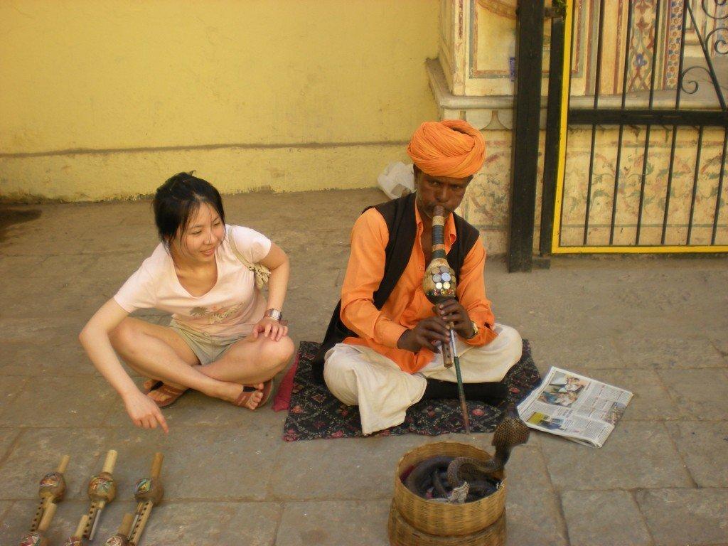 india snake charmer 印度 蛇