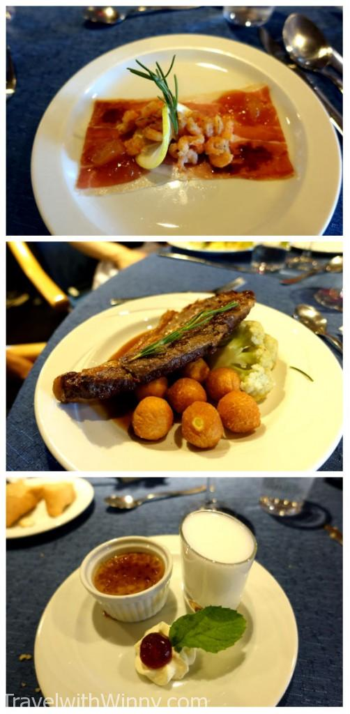 food on cruise 南極食物