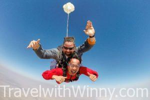 Namibia: Skydiving in Swakopmund