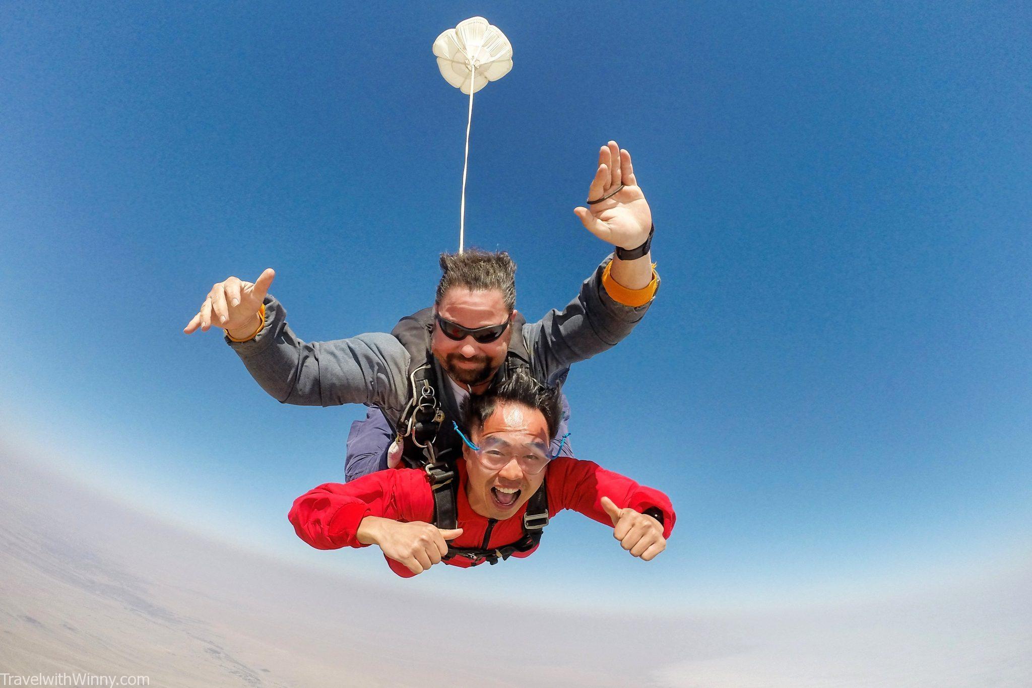 Namibia: Skydiving in Swakopmund – Travel with Winny