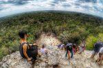 【墨西哥】爬上叢林頂端的金字塔:瑪雅遺址 Coba 科巴 & 天然井游泳