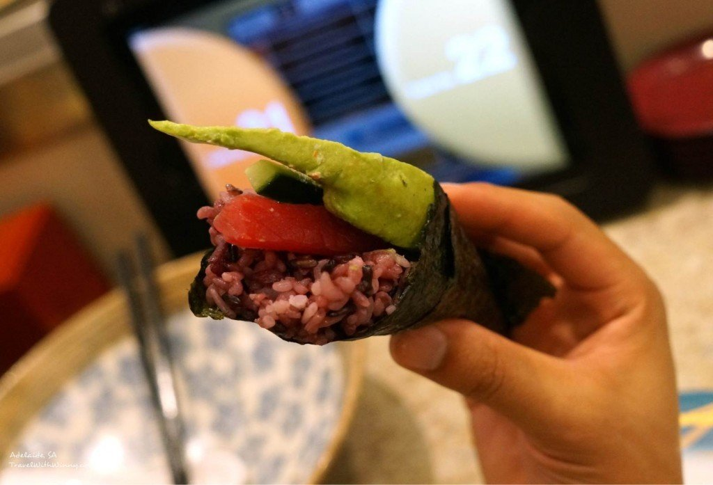 sushi hand roll adelaide