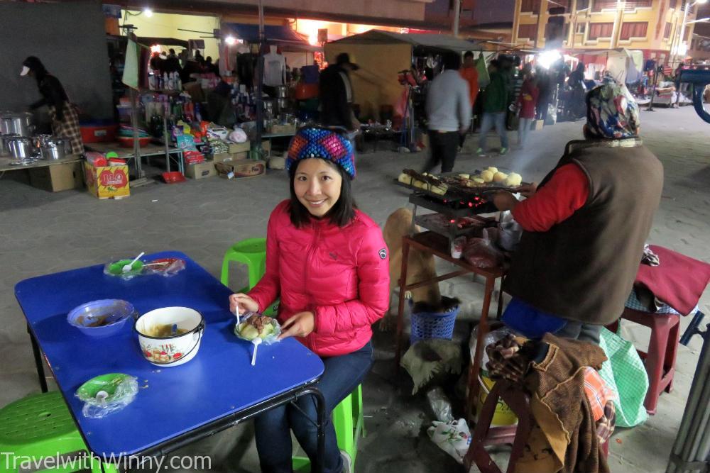 bolivia street food 南美地攤