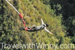 Highest Bungee Bridge Jump @ Bloukrans Bridge, South Africa