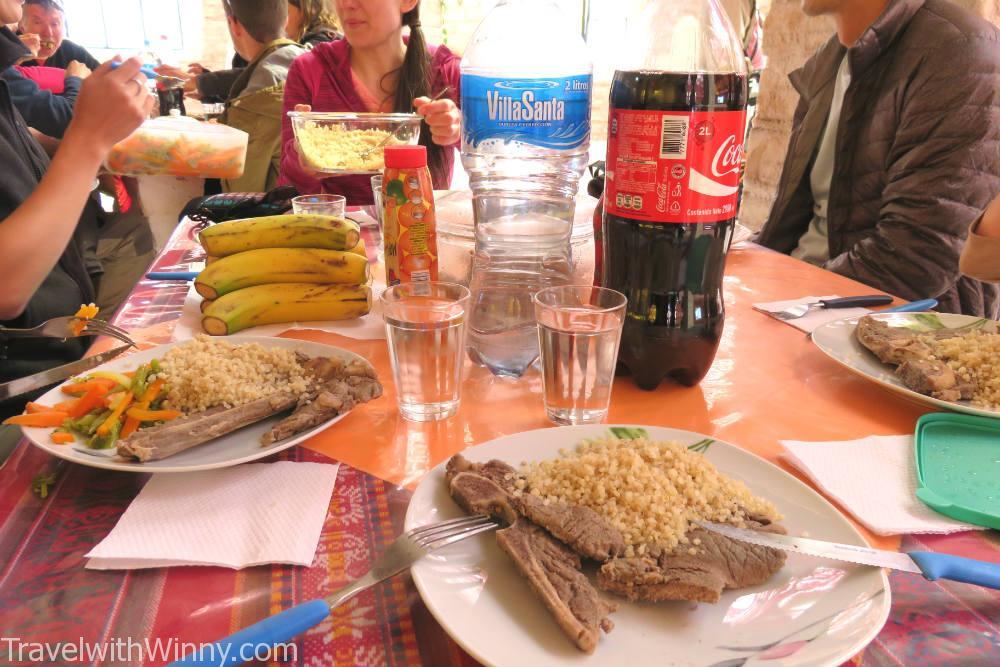 食物 Uyuni 鹽湖 salt flat