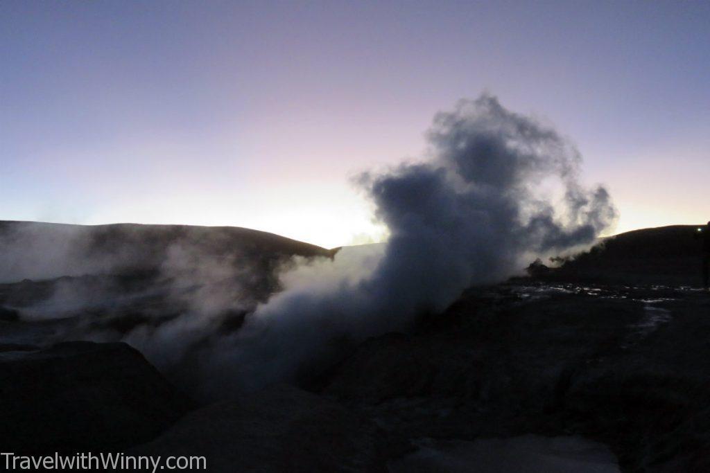 間歇泉 geysers