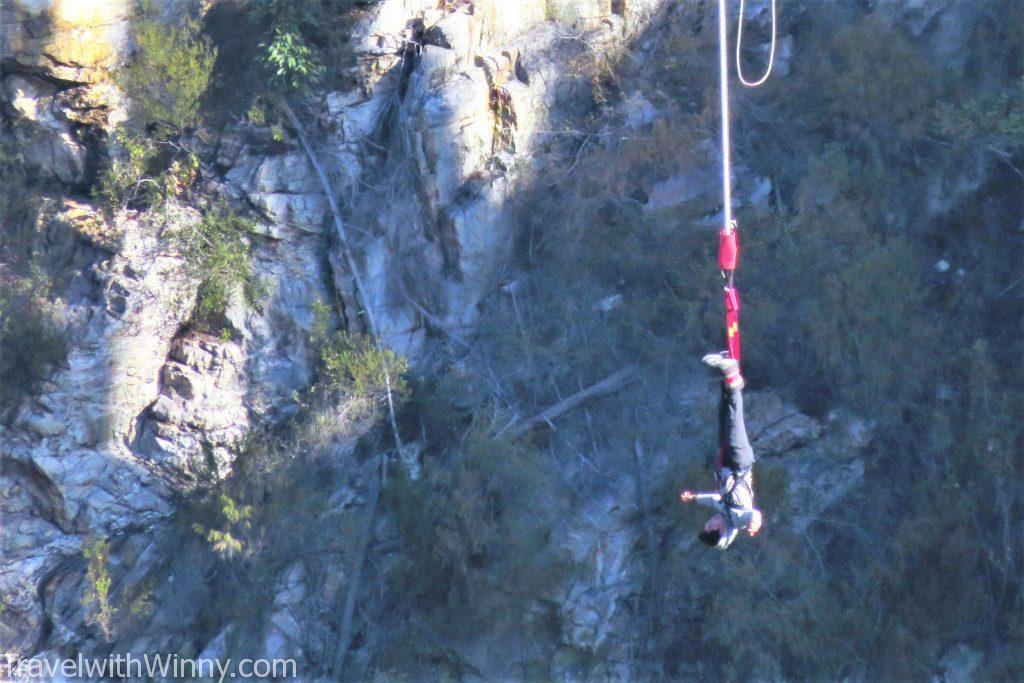 布勞克朗斯大橋 Bloukrans Bridge bungee 高空彈跳