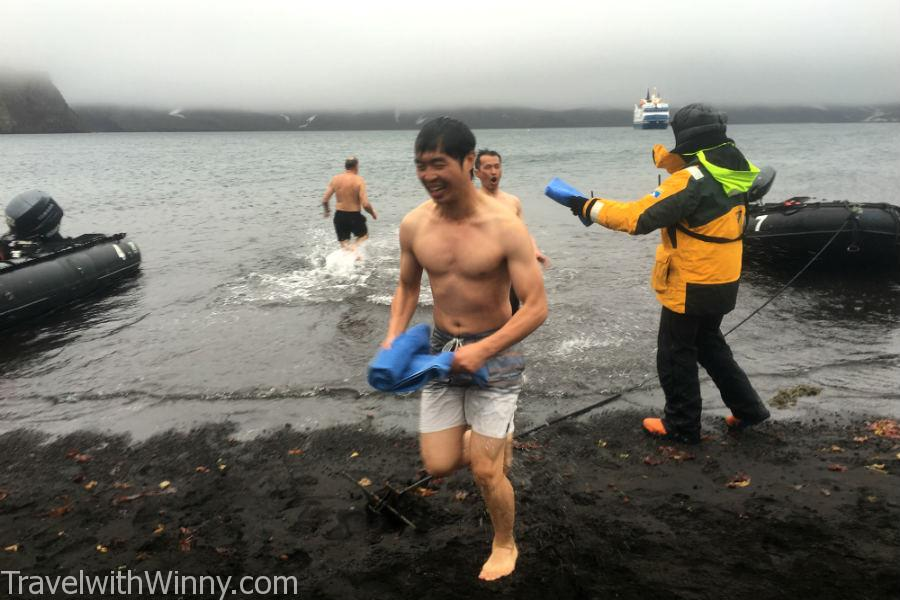 南極跳水 polar plunge